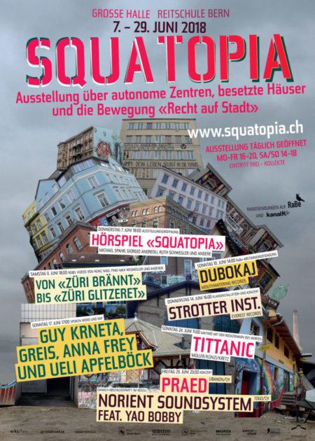 Abschluss-Party Squatopia