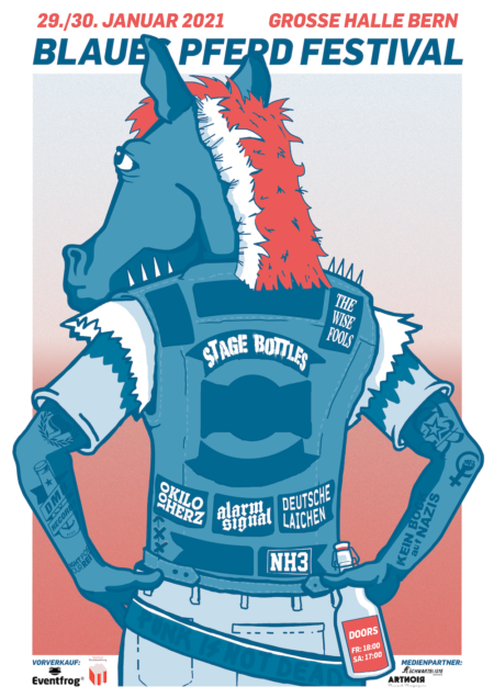 Blaues Pferd Festival