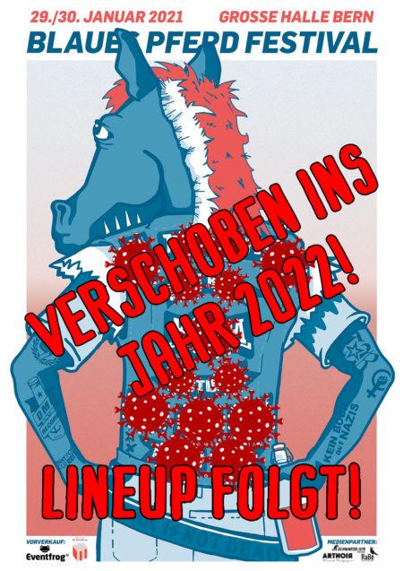 Blaues Pferd Festival VERSCHOBEN