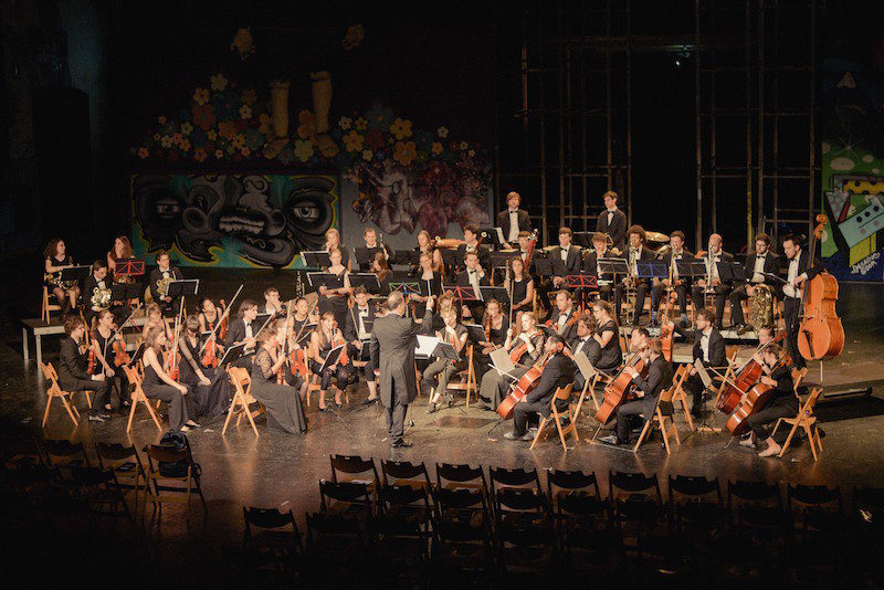 Orchestra giovane: Wipfelrauschen